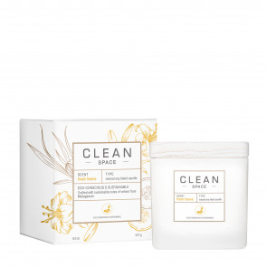 Clean Space Candle Fresh Linens 227 g.
