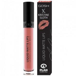 GOSH X Liquid Matte Lips Kristine Sloth - 001 Doreen