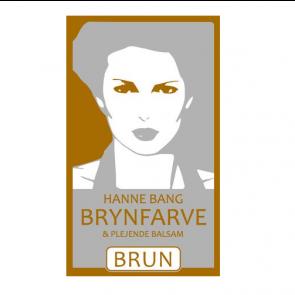 Hanne Bang Brynfarve & Plejende Balsam - Brun