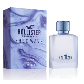 Hollister California Free Wave For Him Eau de Toilette 50ml