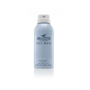Hollister California Free Wave For Him Deodorant Spray 143ml