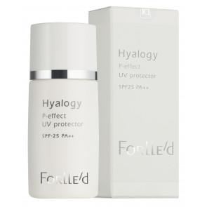 Forlle´d Hyalogy P-effect UV Protector SPF 25 PA++ 30 ml.