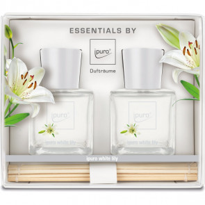 Ipuro Diffuser Duftpinde White Lily 2 x 50 ml.