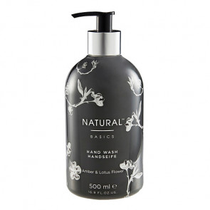 Natural Basics Hand Wash Amber & Lotus Flower 500 ml.
