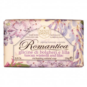 Nesti Dante Romantica Enchanting Natural Handsoap Tuscan Wisteria & Lilac 250 gr.
