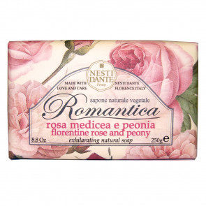 Nesti Dante Romantica Exhilarating Natural Handsoap Florentine Rose & Peony 250 gr.
