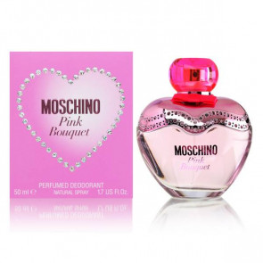 Moschino Pink Bouquet Parfumed Deotorant 50ml