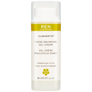 REN Clarimatte T-zone Balancing Gel Cream 50 ml.
