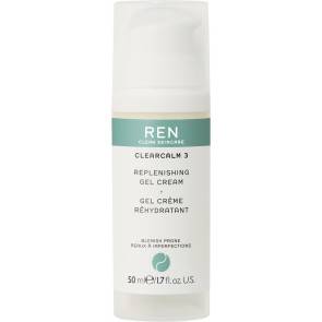 REN Clear Calm 3 Replenishing Gel Cream 50 ml.