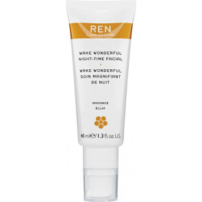 REN Wake Wonderful Night-Time Facial 40 ml.