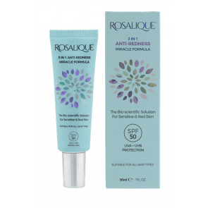 Rosalique 3 In 1 Anti-Redness SPF 50 30 ml.