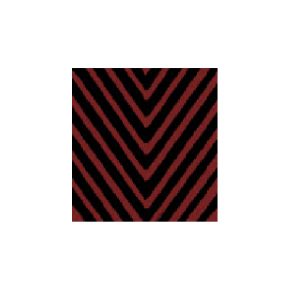 Trasparenze Priamo Collant - Black with Red Stripes 4 bordò