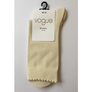 Vogue Bamboo Socks Off-White 40-42