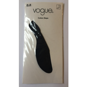 Vogue Cotton Steps Black 35-38