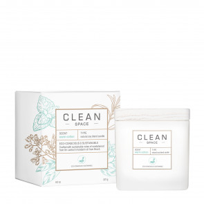 Clean Space Candle Warm Cotton 227 g.
