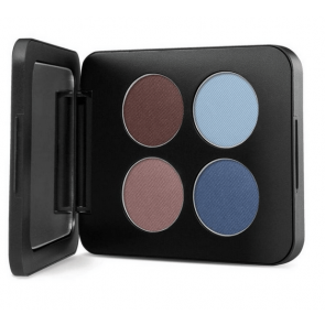 YoungBlood Pressed Mineral Eyeshadow Quad Glamour-Eyes