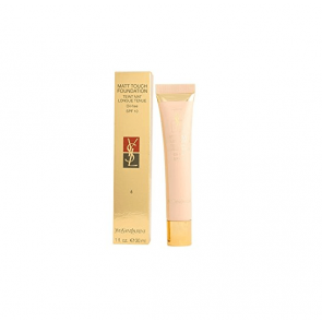 Yves Saint Laurent Matt Touch Foundation spf10 Oil-Free 6 Gold Beige 30ml