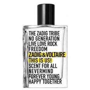 Zadig & Voltaire This Is Us Eau de Toilette 50 ml.