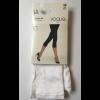 Vogue Opaque 3D Capri Leggings White L-XL
