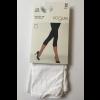 Vogue Opaque 3D Capri Leggings White S-M
